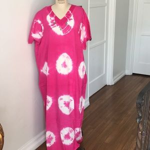 Other - Moroccan tie dye caftan